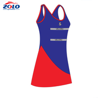 Factory latest style sports wear team tennis dress