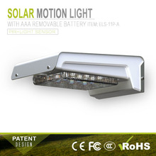 ip65 outdoor wall light outside waterproof led motion sensor light 16pcs solar motion sensor light