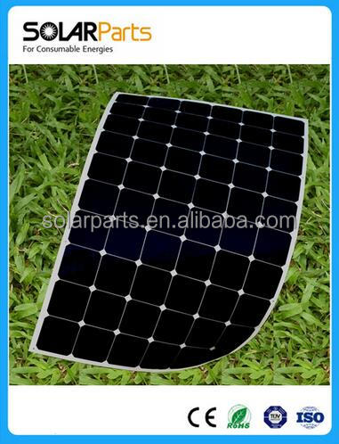 2016 harga panel solar cell Best price per watt monocrystalline silicon solar panel For RV Boats yachts Roof Golf Car