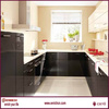 Curved Lacquer kitchen bruma veneer fancy plywood 2.5mm