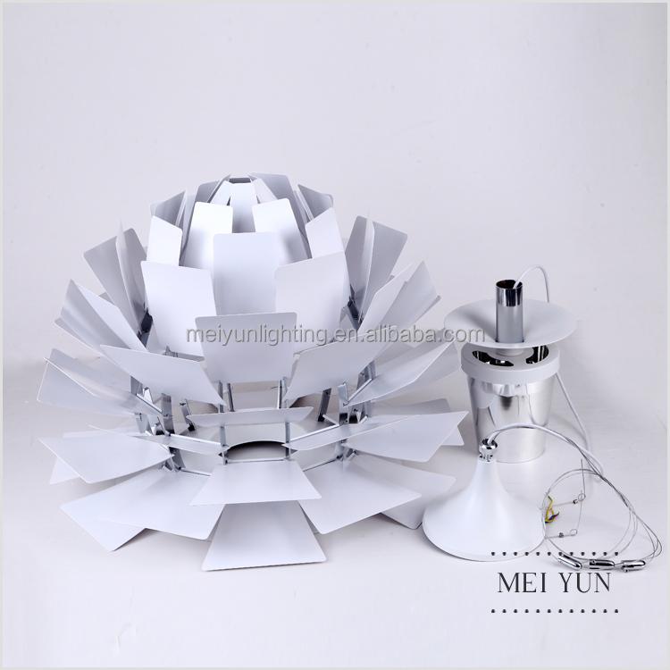 moderne replik aluminium lampe ph artischocke. Black Bedroom Furniture Sets. Home Design Ideas