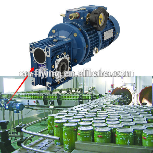 High performance gearbox for ls packing screw conveyor machine