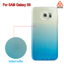 2016 Low MOQ Ultral thin for samsung galaxy s6 phone case,TPU Phone Back Cover for S6 colorful case