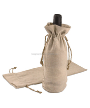 Direct Factory Manufacture jute wine bottle bag