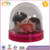 custom made resin souvenir glass resin craft home decoration water photo frame