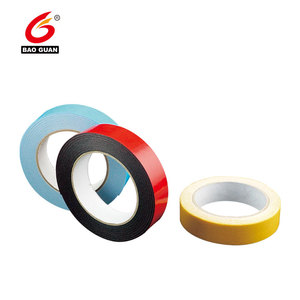 High Quality Acrylic Foam Tape Double Sided Adhesive Discs Foam Stick Circles With Diameter Custom