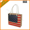 2014 hot sale shopping jute bag exported to USA