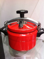 hot sales polished fire natural fagor pressure cookers