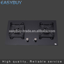 China supplier Tempered glass Commercial kitchen appliance adjustable gas stove burner