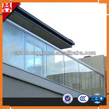 high quality safety glass balcony door price