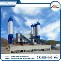 Fixed HZS150 concrete mixing machine