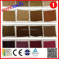 Washable soft moisture absorption suede fabric factory