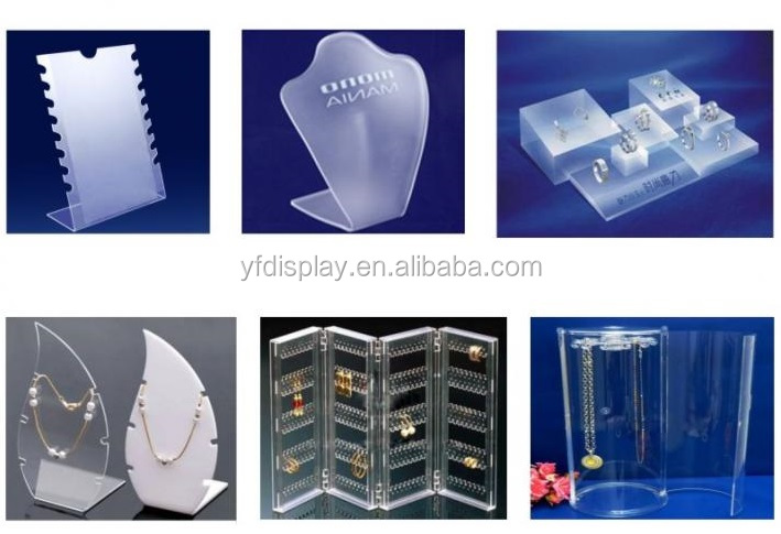 Customized design luxury acrylic jewelry display holder and Jewelry holder