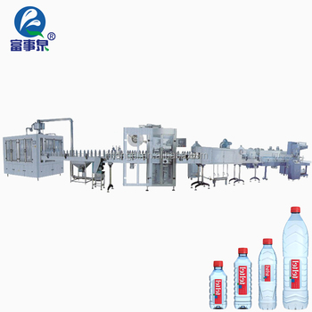 BV Certified automatic factory price pet bottle mineral gas water filling line