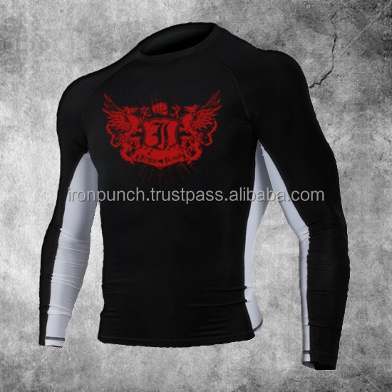 Power-Flex Long Sleeve Rash Guards