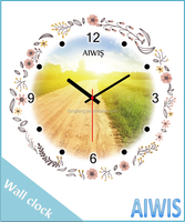 Wall clock fancy indoor time gift