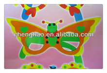 Funny eva sunglasses for kids handicraft toy