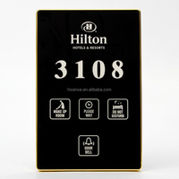 Multi Functional Hotel Room Number Sign