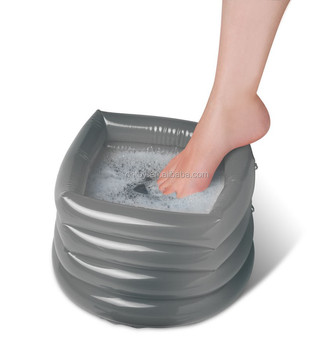 adult inflatable foot bath spa toy