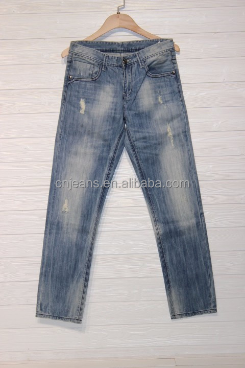 GZY Garments buyer for mens jeans stock