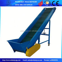 Different Types Stainless Steel Food Grade Belt Conveyor with Air blowers cooling
