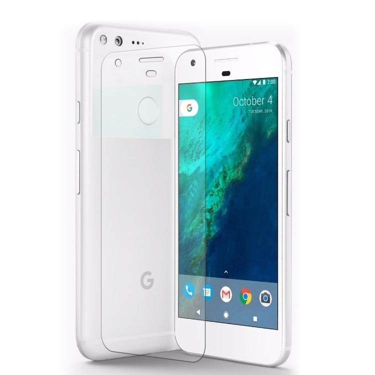 anti-fingerprint wholesale cell phone fingerprint proof tempered glass screen protector for google pixel xl