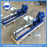 easy used Sanitary progressive cavity pump with wide throat