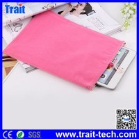 2015 Cheap price Soft Lint Pouch Bag for iPad Mini 2,case for ipad mini