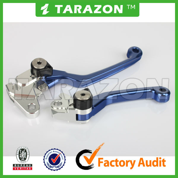 CNC billet brake clutch MX levers for Kawasaki KX250