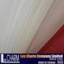 LC20203 Christmas Rainbow Organza Fabric