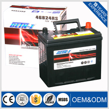 Japan standard 12v 36ah User safety auto car battery