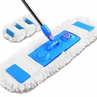Mop Flat Floor Wet & Dry Microfiber Cloth lazy Slippers Large Mop for Bathroom/ Kitchen/Wall/Tile and Hardwood Floor