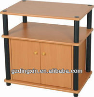 plastic tv stand wooden tray tv cabinet table (DX-8740)