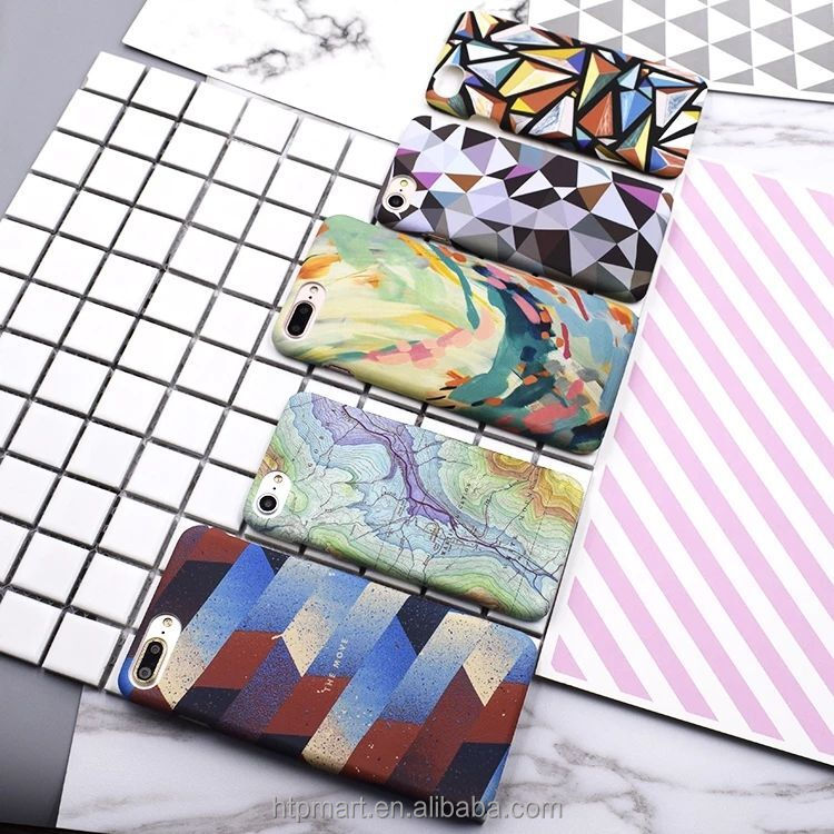 Custom printed 3D Blank Sublimation Polymer Phone Case Cover for iPhone 6 S