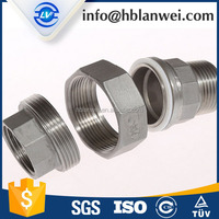 Alibaba Hot Sales malleable iron pipe fittings six corner unions