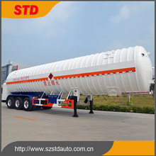China double layer LNG tanker trailer manufacturer