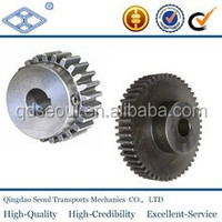 machining JIS standard M1.5 T37 carbon steel SH2-90R sintered metal degree helical gear wheel