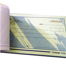 customized carbonless ncr paper receipt book airway bill