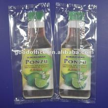 Promotional Gifts Bottle Shape Car Air Freshener
