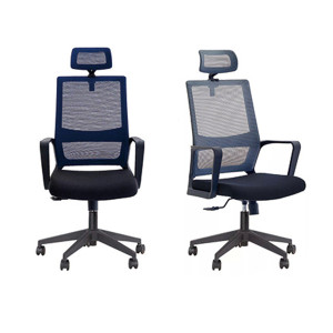 Best Sale Ergonomic Mesh Secretary Chair Office Fabric Task Staff Chair