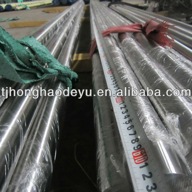 316 Stainless Steel Round Rod, Unpolished (Mill) Finish, Annealed Temper, Standard Tolerance, Inch, Meets AMS 5648 Specification