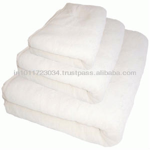COTTON TERRY BLANKETS, AVAILABLE WITH CUSTOMIZED BRAND