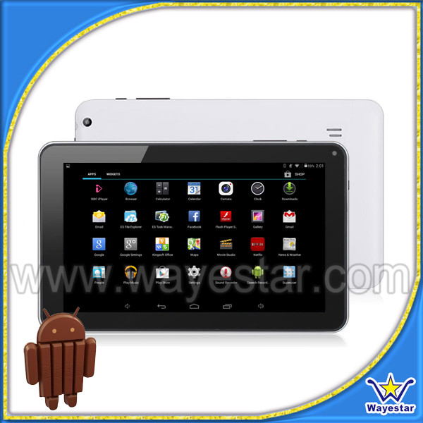 9 inch Andriod 4.4 quad core 2 camera bluetooth wi-fi