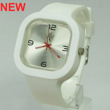 Newest 5ATM Waterproof TOP Quality Watch Custom Jelly watch Silicon Watch dial design