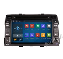 Kirinavi WC-KS7042 android 5.1 double din car stereo for kia sorento 2010 2011 2012 car radio player navigation gps 16G ROM