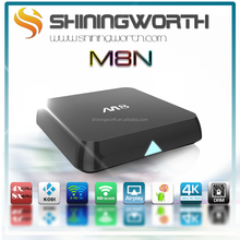 Amlogic S802 M8 2.0GHz Quad Core Android 4.4 Kitkat full hd media player ott tv box