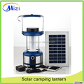 Energy saving solar light /lantern for camping at low price with solar panel