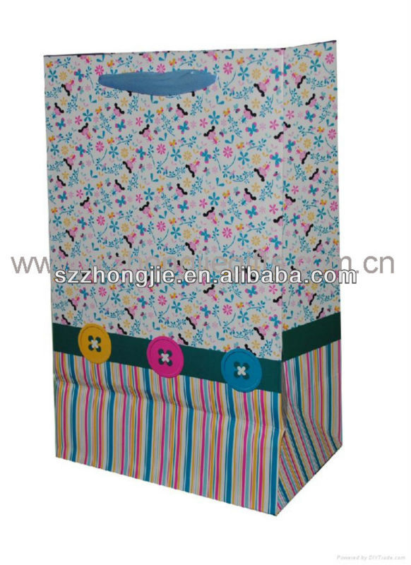 cheap paper bags for gifts packing