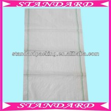 white pp woven cotton flour sacks