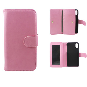 Multi function PU Leather Magnet Wallet Flip Case Cover with Credit Card holder For IPhone 5 6 7 8 Plus X
